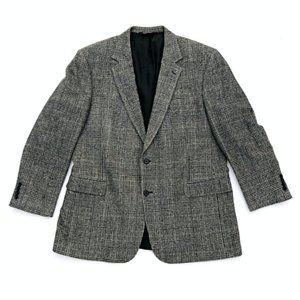 JOS A BANK Men's Plaid Pattern Blazer Jacket 46L